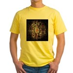 Indian Diamond and Ruby Yellow T-Shirt