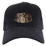 Indian Diamond and Ruby Black Cap