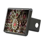 Indian Diamond and Ruby Rectangular Hitch Cover