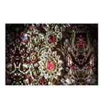 Indian Diamond and Ruby Postcards (Package of 8)