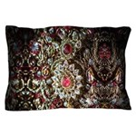 Indian Diamond and Ruby Pillow Case