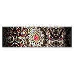 Indian Diamond and Ruby Sticker (Bumper 50 pk)