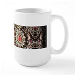 Indian Diamond and Ruby Large Mug