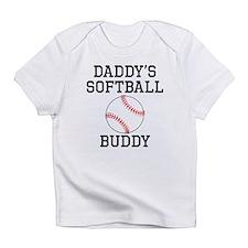 Daddys Softball Buddy Infant T-Shirt