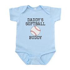 Daddys Softball Buddy Body Suit