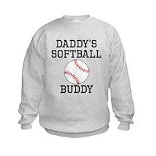 Daddys Softball Buddy Sweatshirt