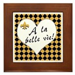 La Belle Vie Framed Tile