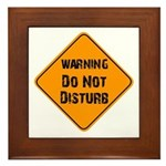 Take Heed of This Framed Tile