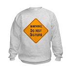 Take Heed of This Kids Sweatshirt