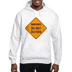 Take Heed of This Hooded Sweatshirt