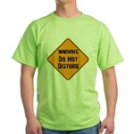 Take Heed of This Green T-Shirt