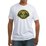 Sierra County Sheriff Fitted T-Shirt