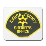 Sierra County Sheriff Mousepad
