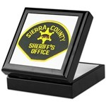Sierra County Sheriff Keepsake Box