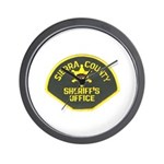 Sierra County Sheriff Wall Clock