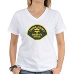 Sierra County Sheriff Women's V-Neck T-Shirt