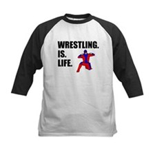 Wrestling Is Life Baseball Jersey
