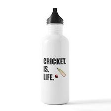 Cricket Is Life Water Bottle