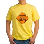 Ease Up! with this Yellow T-Shirt