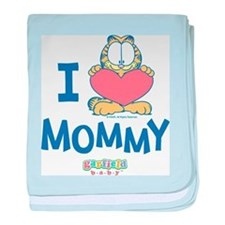 Baby GARFIELD, Heart Mommy, baby blanket
