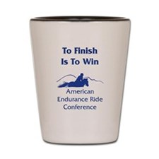 AERC - To Finish Is To Win Shot Glass