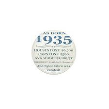 Birthday Facts-1935 Mini Button