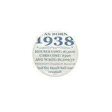 Birthday Facts-1938 Mini Button