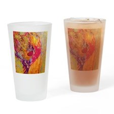 Woman of Color Drinking Glass