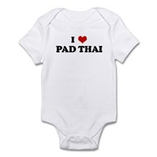 I Love PAD THAI Infant Bodysuit