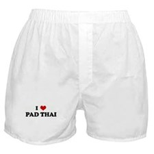 I Love PAD THAI Boxer Shorts