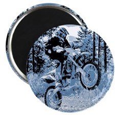 """Fun in the Woods"" (Blue) 2.25"" Magnet (100 pack)"