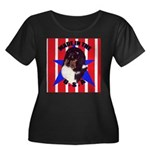 Sheltie - Made in the USA Women's Plus Size Scoop