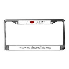 Alf License Plate Frame