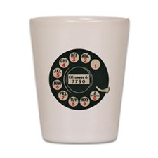 Retro Rotary Phone Shot Glass
