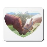Maverick and Sunshine Horse Mousepad