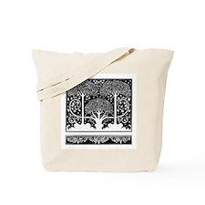 Art Nouveau Vintage Tree Pattern Tote Bag
