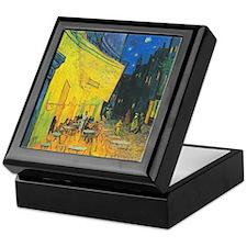Van Gogh Cafe Terrace at Night Keepsake Box