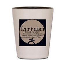 Feminism Defined Shot Glass