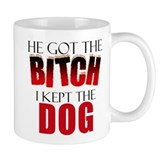 Dog Divorce Settlement Coffee Mug