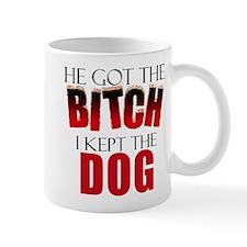 Dog Divorce Settlement Small Mug