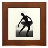 Funny En pointe Framed Tile
