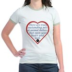 Open Your Heart Jr. Ringer T-Shirt