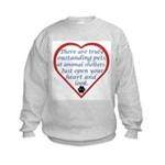 Open Your Heart Kids Sweatshirt