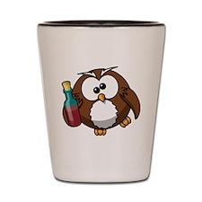 Owl Shot Glass