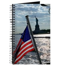 American Flag / Statue of Liberty - Blank book