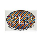 SLP Autism Rectangle Magnet