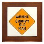 THe Grumpy Framed Tile