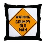 THe Grumpy Throw Pillow
