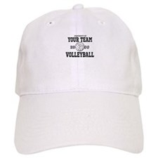 Personalized Property of Your Team Volleyball Baseball Cap
