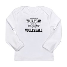 Personalized Property of Your Team Volleyball Long